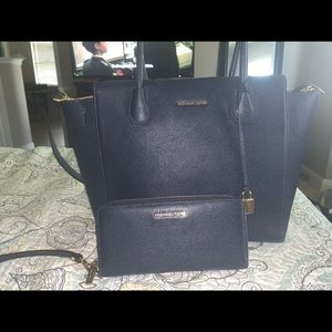 Michael Kors wallet and handbag set